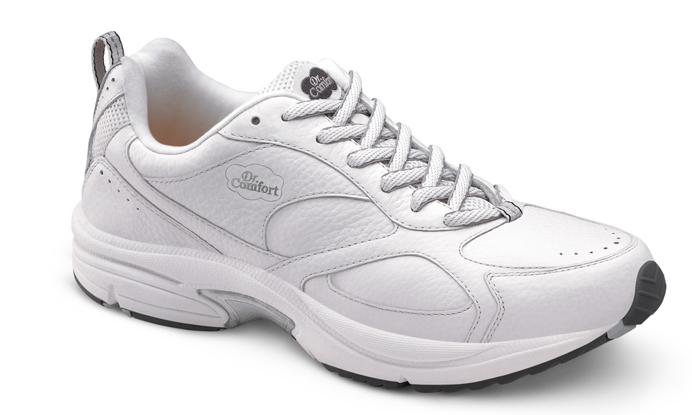 b4a74ee71f31 Dr Comfort Winner PLUS Shoes - White - Dr Comfort