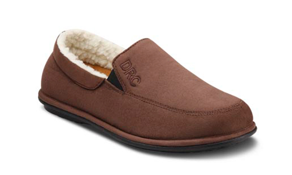 Dr Comfort Relax Slippers - Chocolate