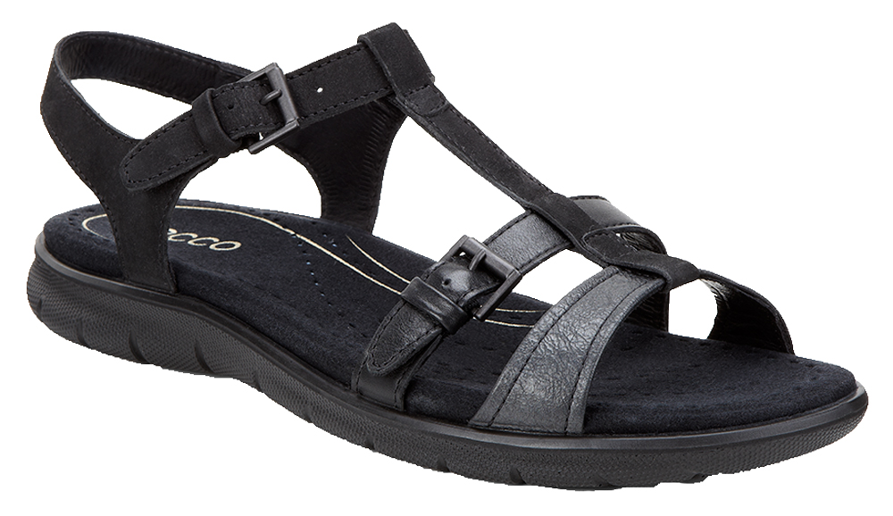 Ecco Buckle Babett Sandals 214003 - Black